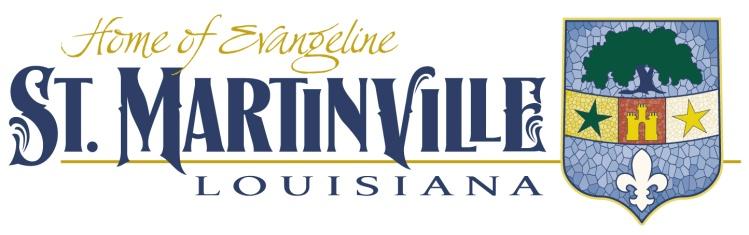 City of St. Martinville, Louisiana Logo