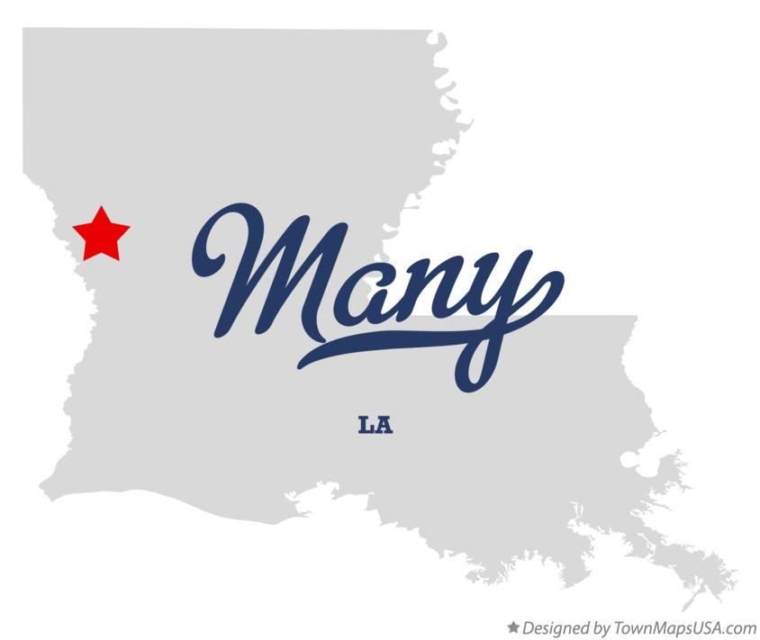 Town of Many Logo